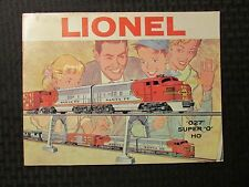 1960 LIONEL TRAIN Catalog Magazine VG+ 4.5 027 Super 0 HO 56pgs