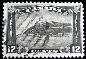 CANADA – Sc #174 – 12¢ – GRAY BLACK – USED – 1930