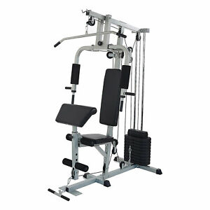 Everyday Essentials Home Gym Exercise Equipment Bench Strength Workout Station