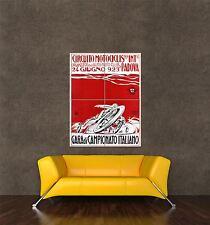 Giant imprimé Poster moto sport course champion Padoue en Italie pdc093