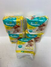 5 x 24 Pampers Premium Protection New Baby Micro Nappies New  A36