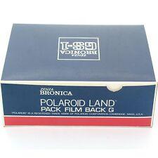 BRONICA GS-1 Polaroid Back, Boxed, état neuf