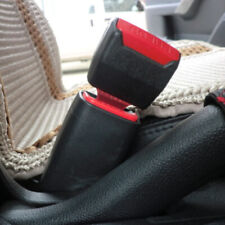 1.Pair Black Universal Car Safety Seat Belt Buckle Clips Extender Alarm Stopper