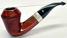Peterson Sherlock Holmes Hansom Smooth Finish Silver Mounted Pipe