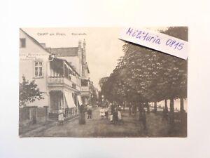 AK Ansichtskarte 1919 Camp am Rhein, Rheinstraße