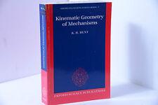 KINEMATIC GEOMETRY OF MECHANISMS BY KENNETH HENDERSON HUNT
