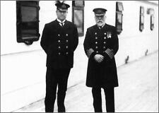 Photo: 5x7: Purser McElroy & Captain Smith On Titanic