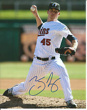 **GFA Minnesota Twins *TREVOR MAY* Signed 8x10 Photo T4 COA**