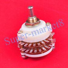 2Pole 23Step 2x23 Rotary Switch Attenuator Volume Control Potentiometer Pot DIY