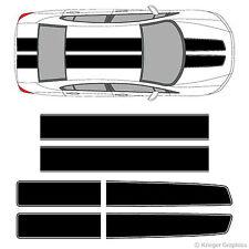 Honda Civic Accord CRZ EZ Rally Racing Stripes 3M Vinyl Stripe Decals Graphics