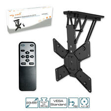 TV Bracket motorized, with IR-Remote controller folding Ceiling for LCD T
