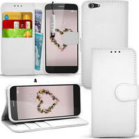 For ZTE Blade A512 - Premium Wallet Leather Stand Case Flip Cover + Screen Guard