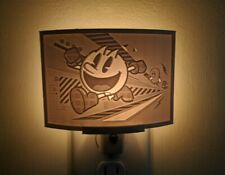 Pacman Lithophane Incandescent Night Light