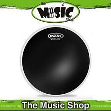 """New Evans 12"""" Black Chrome Batter Drum Skin - 12 Inch Drum Head - TT12CHR"""