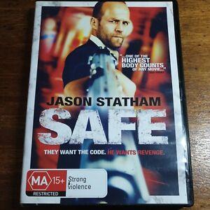 Safe DVD Jason Statham R4 LIKE NEW FREE POST