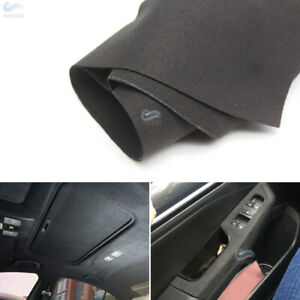 135*45CM Universal Car Interior Suede Leather Steering Wheel Door Panels Cover