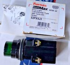 New in Box SIEMENS 52PX4J3 Black Max Pilot Light 480v