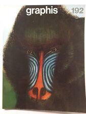Graphis 192 Vintage International Design Advertising Illustration 1977-78 Herdeg