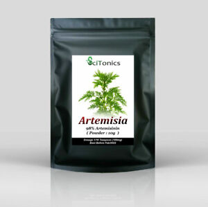 Artemisia Annua Extract 10g Powder ( 98% Artemisinin ) , High Strength