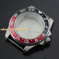 40mm Titanium Bezel Watch Case Fit ETA 2836,DG2813/3804,Miyota 82series movement