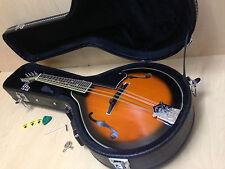 Smoky Mountain SM64VSB A-style,F-holes Mandolin Sunburst w/Lockable Hard Case