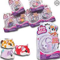HAMSTER ZURU PETS ALIVE Running Electronic Pet Kids Toy Christmas Gift Filler UK