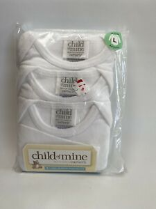 Carters Child Of Mine 3 Long Sleeve Bodysuits 6-9 Months
