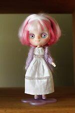 Blythe Middie Custom Doll - Spooky Kids Workshop faceplate