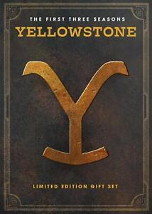 Yellowstone Season 1 & 2 & 3 1-3 (DVD ,12-Disc) LIKE NEW FREE SHIPPING US SELLR