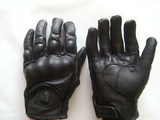 Clearance sale !!! Motorcycle Bicycle Racing Gloves Leather Windproof Black XL