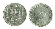 pcc1712_4) ALBANIA Vittorio Emanuele III  (1939-1943) 0,2 LEK 1939