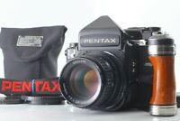 [Opticul N MINT] Pentax 67 TTL Late Model Camera + SMC P 105mm f/2.4 From JAPAN