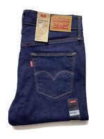 Levi Strauss Womens Jeans Size 29 x 34 Slimming Slim Mid Rise Stretch BNWT