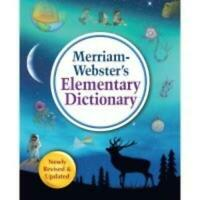 Merriam-Webster 745-6 Dictionary, Elementary, Mw (mer7456)