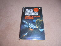 GALACTIC MEDAL OF HONOR SCI-FI BOOK MACK REYNOLDS FIRST EDITION RARE