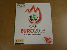FOOTBALL PANINI ALBUM COMPLETE / UEFA EURO 2008 AUSTRIA - SWITZERLAND