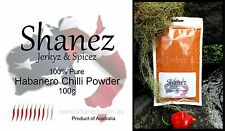 200g SHANEZ EXTRA HOT HABANERO CHILLI POWDER- Australian Made~Herbs Spices