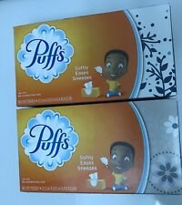 2 Boxes Puffs Non-Lotion Facial Tissue 96 ct  2 Ply Tissues.