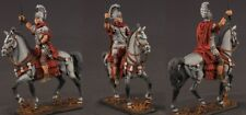 Tin toy soldiers painted 54 mm Roman cavalry commander