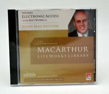 MacArthur LifeWorks Library PC CD eBible Over 50 books John MacArthur Writings