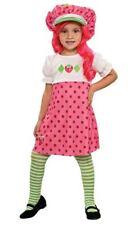 Strawberry Shortcake Girls Costume Child Toddler Pink Halloween Dress Up Gift