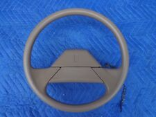 GM Tan Olds Cutlass Steering Wheel 2-Spoke OEM 86 87 88 89 90 91 70,s 80,s 90,s