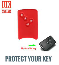 Red Silicone Flip Key Cover Fob For Renault Laguna Symbol Scenic Clio /-cj4-/