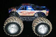 Hot Wheels Monster Jam Blue King Krunch Truck Loose 1:64 1/64 - See Pics Mattel