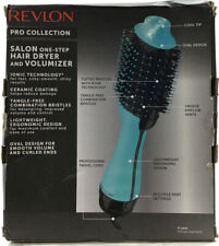 Revlon One-Step Hair Dryer& Volumizer Hot Air Brush Mint Color NEW!