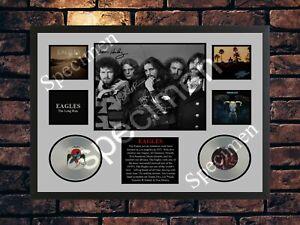 EAGLES SIGNED LIMITED EDITION MUSIC MEMORABILIA A4 PHOTO PRINT