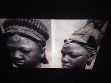 "Yoruba/ Ife ""Terracotta Heads"" Nigeria African Tribal Art 35mm Slide"