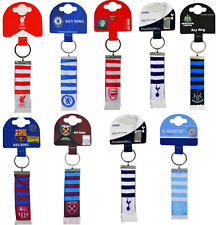 Football Bar Scarf Keyring  - Official Football club gift
