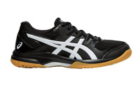 New ASICS Women GEL-Rocket 9 Volleyball Shoes 1071A030 Size 9 black/white