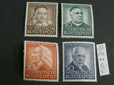 Deutschland, BRD, Mi.-Nr.: 173-176  , **, MNH, postfrisch, KW: 85,00